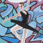 Danseuse-graffeuse-3_123x94cm_©SLANG_6308LD - Détail