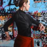 Flamenco_110x84_huile_spray_sur_tableau_©SLANG_6457 détail 1