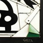 Galerie Art Jingle Fernando COSTA La Voiture Coeur 60x60 cm Détail 2