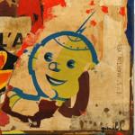 Galerie Art Jingle Pierre-François GRIMALDI Boys 60x60 cm Détail 2