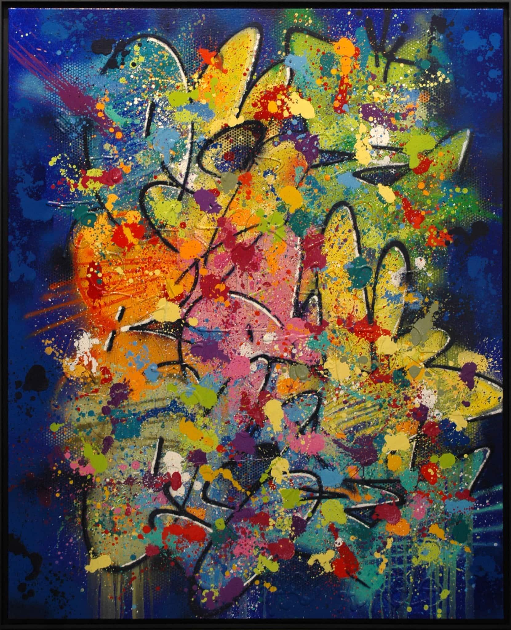 Galerie Art Jingle NEBAY Au Dedans De Toi 130 x 162 cm