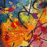 Galerie Art Jingle NEBAY Au Dedans De Toi Détail 1 130 x 162 cm
