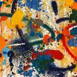 Galerie Art Jingle NEBAY Il Y A Plus de Richesse 120 x 120cm Détail 1