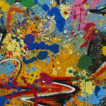 Galerie Art Jingle NEBAY On Se Lasse Détail 1 130 x 97 cm