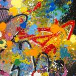 Galerie Art Jingle NEBAY On Se Lasse Détail 2 130 x 97 cm