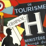 Galerie Art Jingle COSTA Le Touriste Détail 1 60 x 60 cm 2020