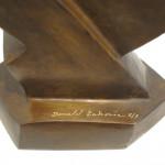 Galerie Art Jingle Donald LABORIE Mademoiselle 54x51x19x16 cm Détail 1 2020