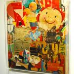 Galerie Art Jingle GRIMALDI Boulevard Montmartre 80 x 80 cm 2020 in situ