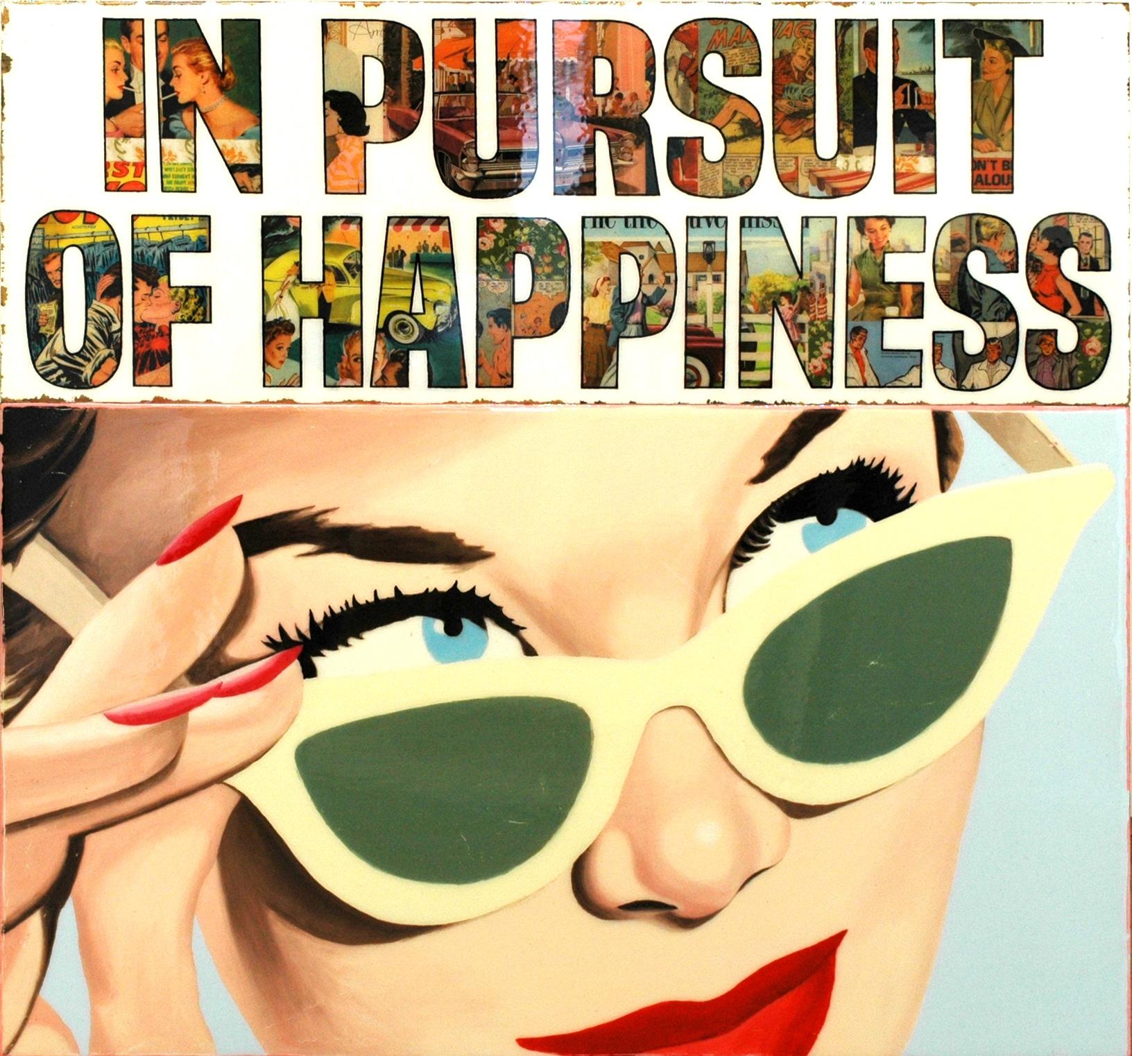 Galerie Art Jingle JOSEPH In Pursuit Of Happiness 105 x110 cm 2020