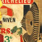Galerie Art Jingle Pierre-François GRIMALDI Richelieu 60x60 cm détail 2