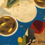 Galerie Art Jingle Pierre-François GRIMALDI Richelieu 60x60 cm détail 3