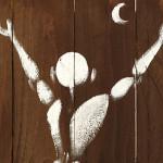 Galerie Art Jingle MESNAGER Salut à La Lune 38 x 50 cm 27 de 2020 Détail 2