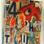 Galerie Art Jingle GRIMALDI Bouffes Parisiennes 60 x 60 cm 202 in situ0