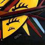 Galerie Art Jingle COSTA Porsche 82x87cm 2020 Détail 2