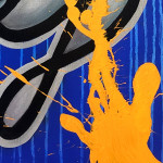 Galerie Art Jingle PSYCKOZE Exclamation 56x69cm 2020 Détail 2