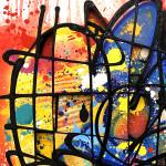 Galerie Art Jingle NEBAY Gorgé Vitaminées 130x81cm 2020 Détail 1