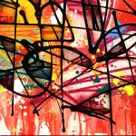 Galerie Art Jingle NEBAY Gorgé Vitaminées 130x81cm 2020 Détail 2