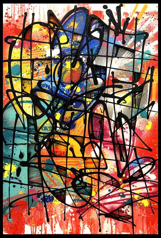 Galerie Art Jingle NEBAY Gorgé Vitaminées 130x81cm 2020 Encadrement