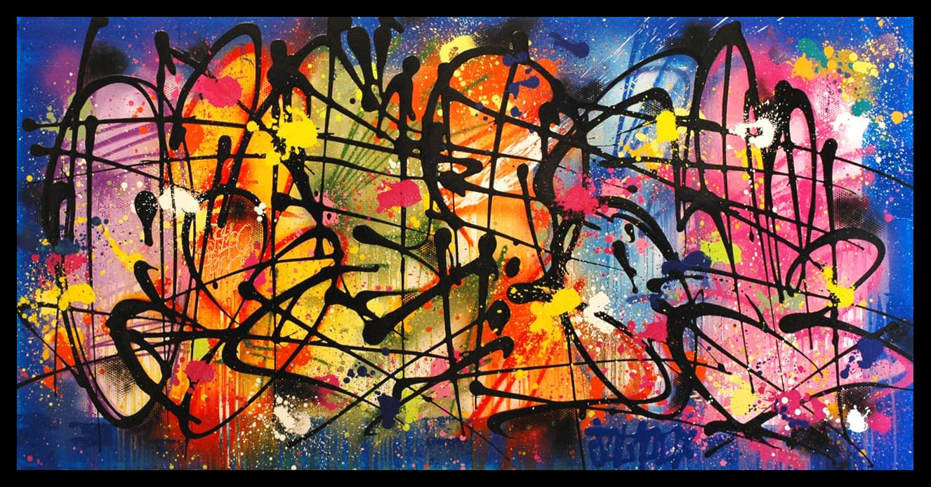 Galerie Art Jingle NEBAY Sing Sing And Swing 146x89cm 2020 Encadrement