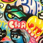 Galerie Art JIngle CHANOIR Chas Et Culture Urbaine 150x150 cm 202Detail 20-min