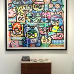 Galerie Art Jingle CHANOIR Bande De Chas Merveilleux 195x175 cm 2020 D2-min