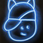 Galerie Art Jingle CHANOIR Blue Moon Cat 2020