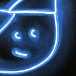 Galerie Art Jingle CHANOIR Blue Moon Cat 2020 Détail