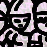 Galerie Art Jingle CHANOIR Chas De Venus 60x73cm 2020 Détail 2