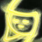 Galerie Art Jingle CHANOIR Yellow Halow 2020 Détail