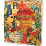 Galerie Art Jingle GRIMALDI Magique 100 x 100 cm 2020 in situ