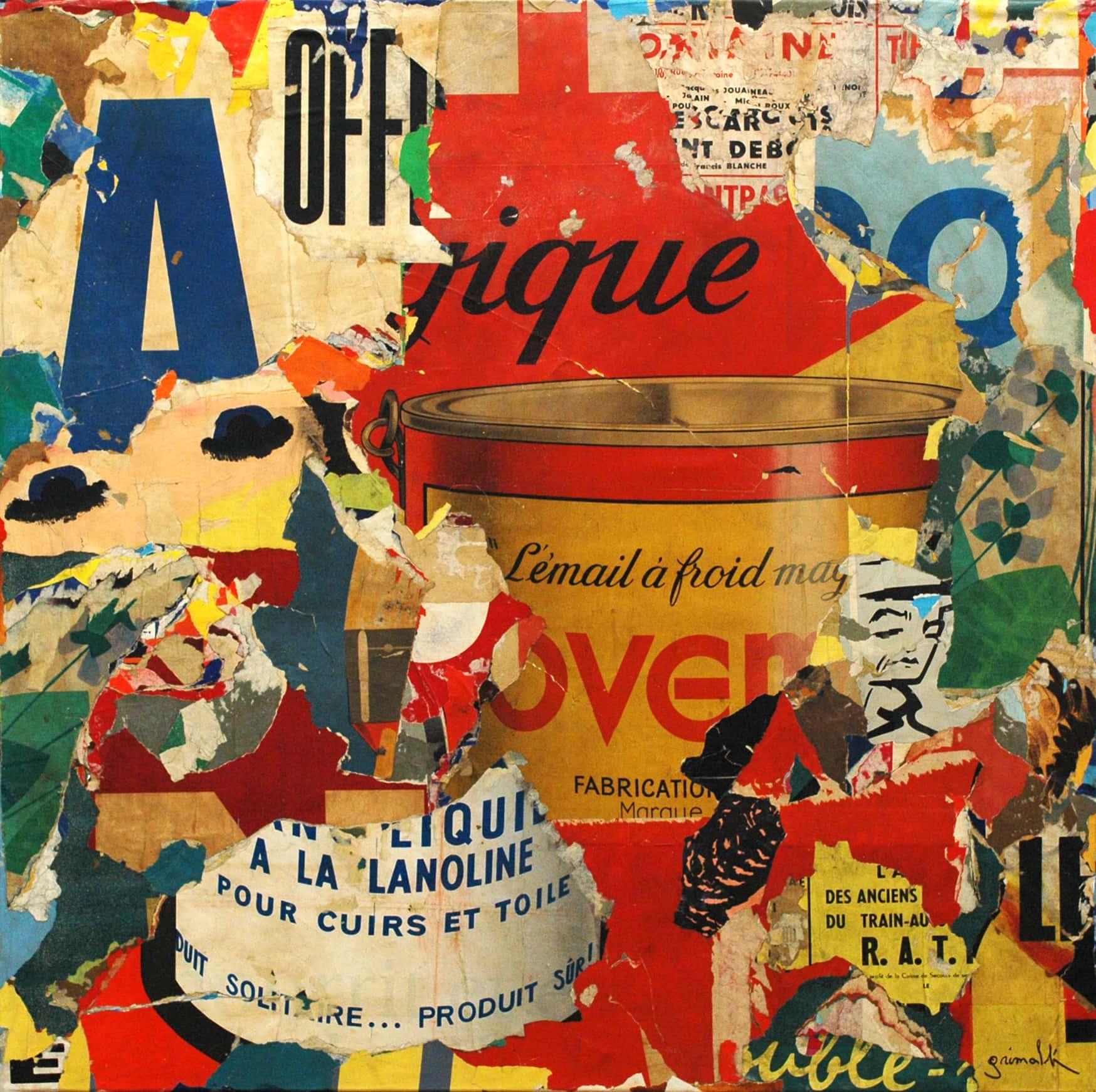 Galerie Art Jingle GRIMALDI Magique 100x100cm 2020