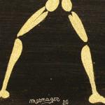 Galerie Art Jingle MESNAGER It's Me ! (Ref 177) 5 55x46cm 2020 Détail 1