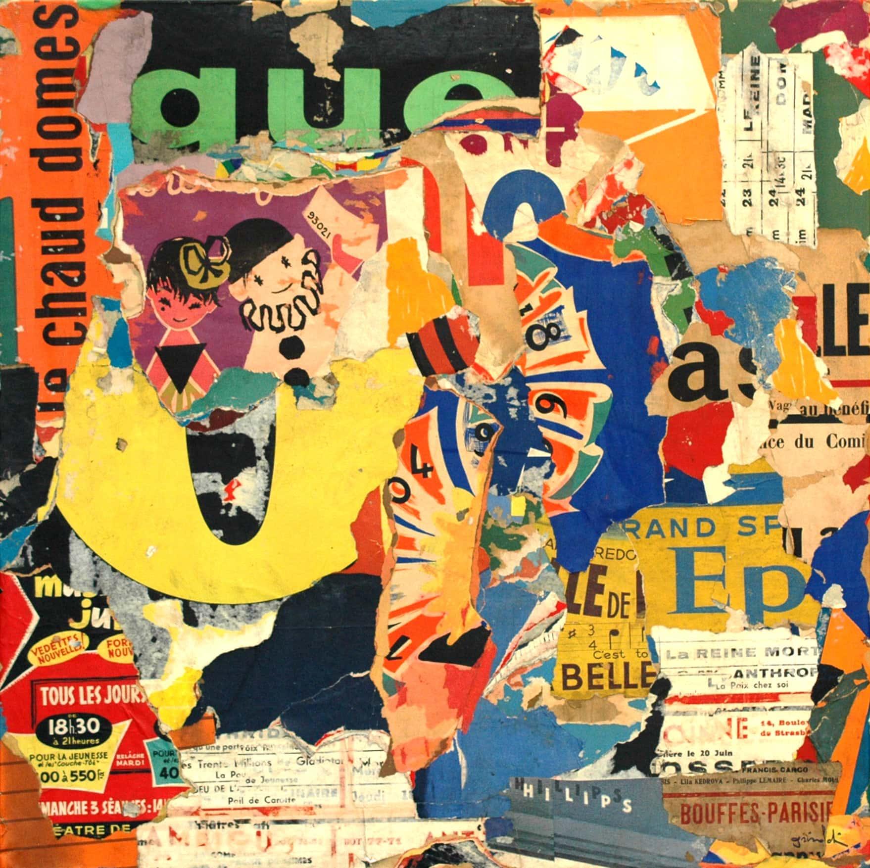 Galerie Art Jingle Pierre-François GRIMALDI Tous Les Jours 80x80cm 2020