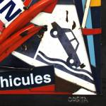 Galerie Art Jingle COSTA Direction 75G 70x70cm 2020 Détail 2