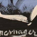 Galerie Art Jingle Jerome MESNAGER Balade Estivale 20x20cm 199 de 2020 Détail 2