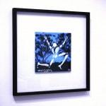Galerie Art Jingle Jerome MESNAGER Balade Estivale 20x20cm 199 de 2020 Encadrement Mur