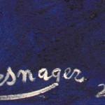Galerie Art Jingle Jerome MESNAGER Dans La Nuit 100x81 123 de 2020 Détail 2
