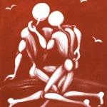 Galerie Art Jingle Jerome MESNAGER La Tendresse 55x46cm 146 de 2020