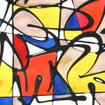 Galerie Art Jingle NEBAY (Réf. NB01) 65x50 cm Détail 1 2021