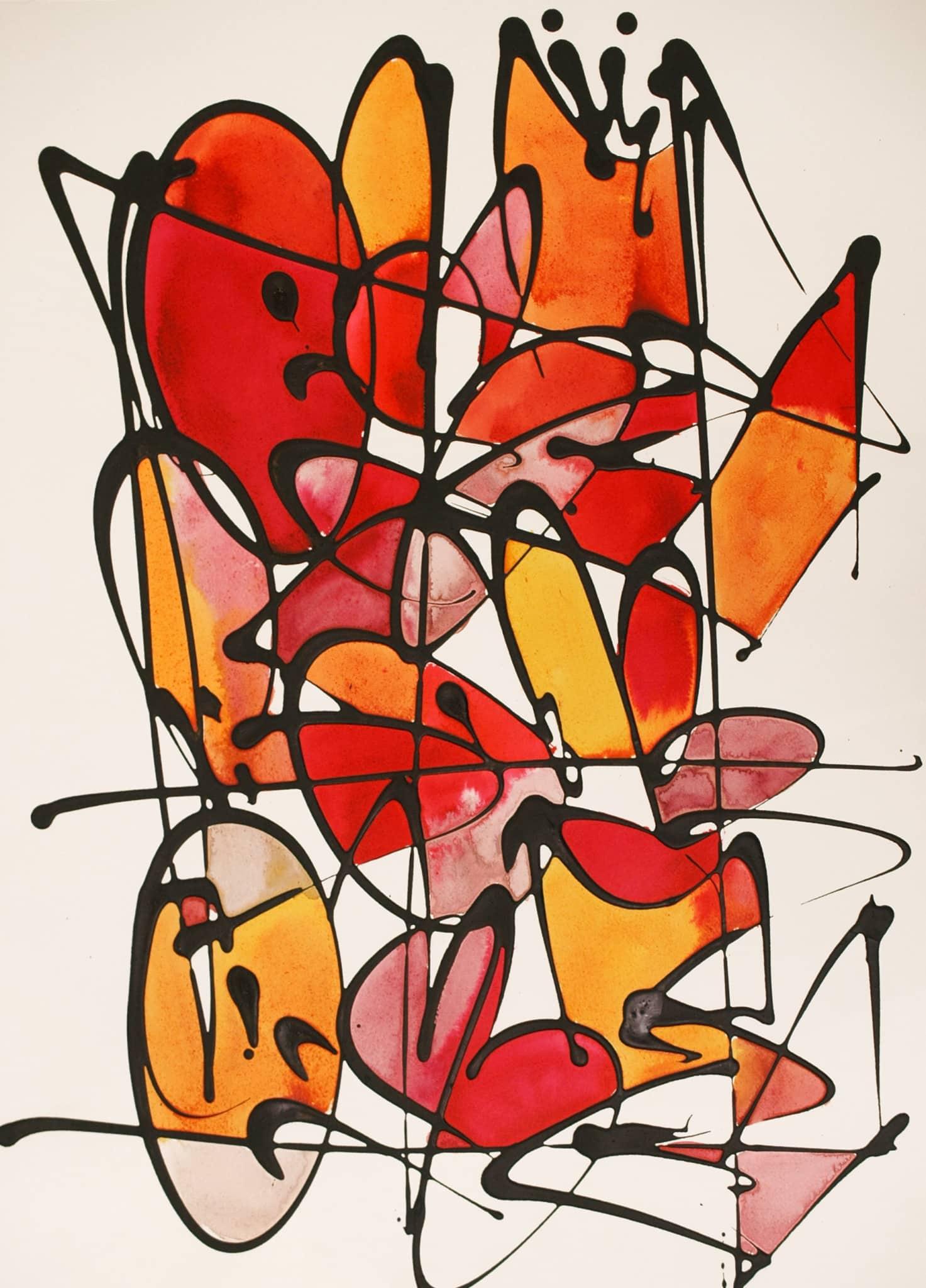 Galerie Art Jingle NEBAY (Réf. NB02) 65x50 cm 2021