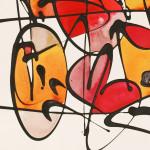 Galerie Art Jingle NEBAY (Réf. NB02) 65x50 cm Détail 2 2021