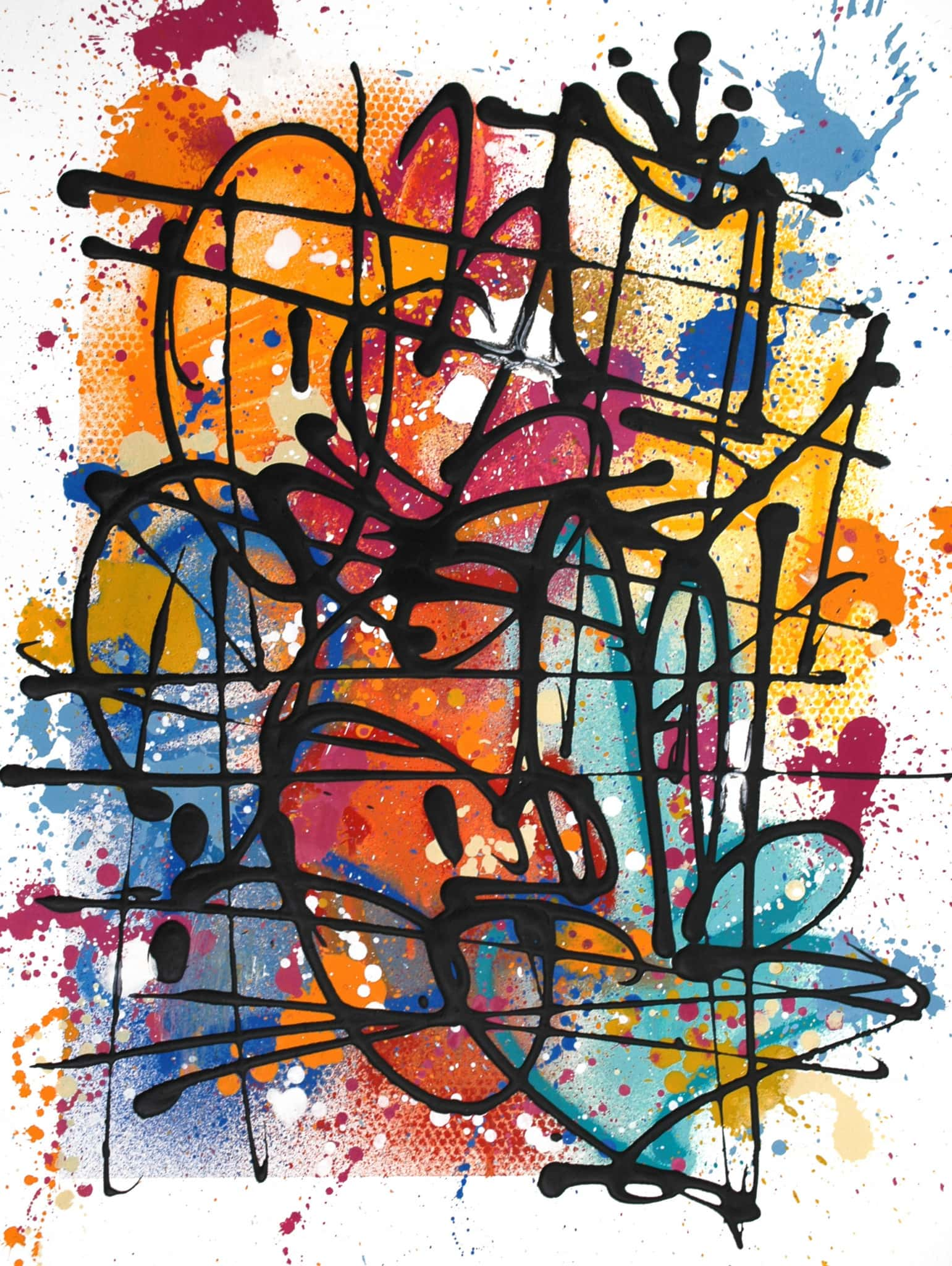 Galerie Art Jingle NEBAY (Réf. NB04) 65x50 cm 2021