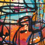 Galerie Art Jingle NEBAY (Réf. NB04) 65x50 cm Détail 1 2021