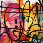 Galerie Art Jingle NEBAY (Réf. NB05) 65x50 cm Détail 1 2021