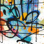 Galerie Art Jingle NEBAY (Réf. NB05) 65x50 cm Détail 2 2021