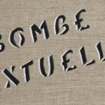 Galerie Art Jingle MISS.TIC Bombe Textuelle 46 cm x 38 cm x 2.5 cm 2020 Détail 2