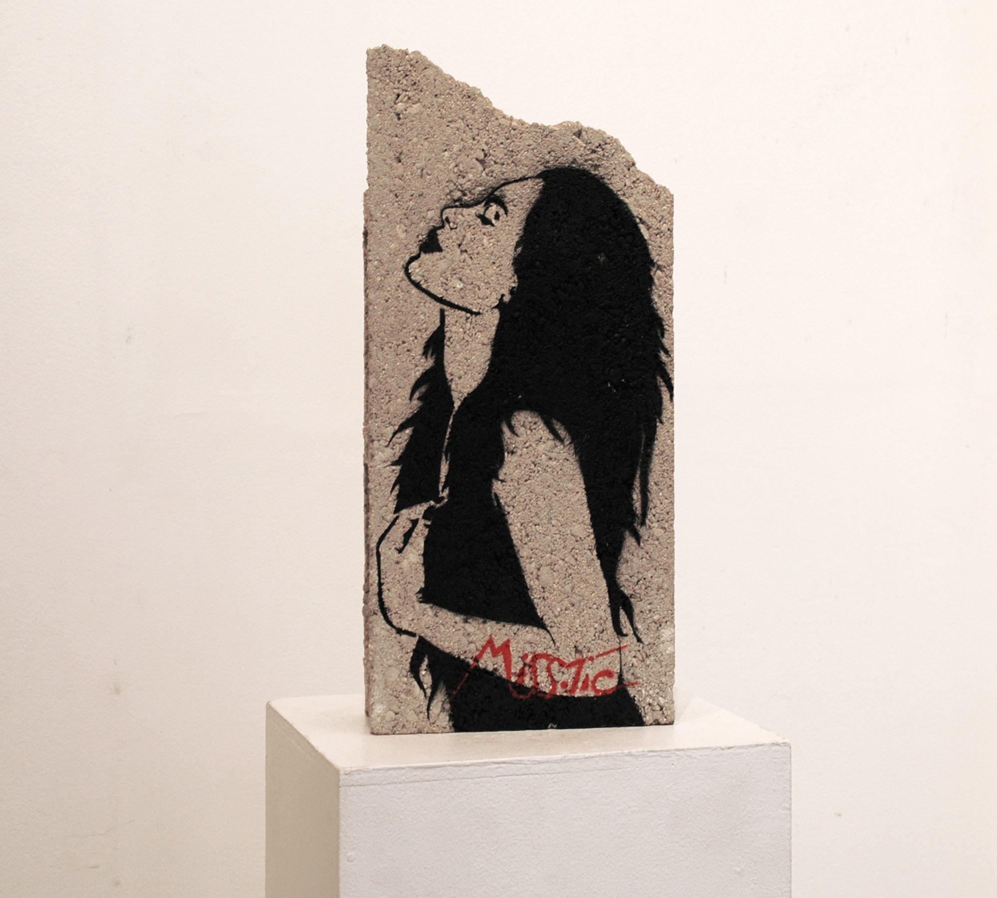 Galerie Art Jingle MISS.TIC Pour Le Meilleur Et Pour Le Rire (Réf. G) 46 cm x 19 cm x 9.5 cm 2021 Devant n7