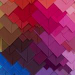 Galerie Art Jingle Maud Vantours Triangles #20 80 x 60 cm Détail 1