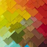 Galerie Art Jingle Maud Vantours Triangles #20 80 x 60 cm Détail 2