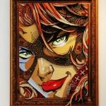 Galerie Art Jingle ROD Black Widow 146 cm x 116 cm Encadrement Mur